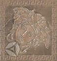 Вставка Marble Tozz.Medusa Marrone 14.4x14.4