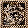 Вставка Marble Tozz.Medusa Nero 11.5x11.5
