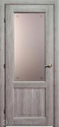 Межкомнатная дверь Краснодеревщик 6324 Дуб Пепельный ДО