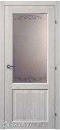 Межкомнатная дверь Краснодеревщик 6324 Пиния ДО Кружевное
