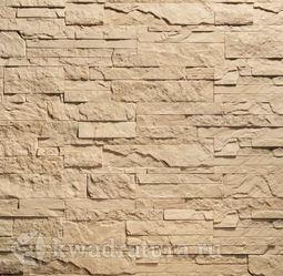 Декоративный гипсовый камень Сланец Карпатский коричневый