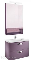 Набор мебели для ванной Roca The Gap фиолетовый 80