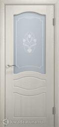 Межкомнатная дверь Двери и К 64 Прованс ДО дуб молочный