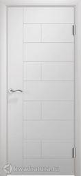 Межкомнатная дверь Двери и К 61 Тетрис ДГ эмаль белая