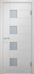 Межкомнатная дверь Двери и К 61 Тетрис ДО эмаль белая