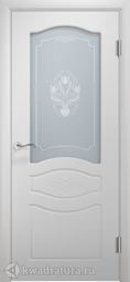 Межкомнатная дверь Двери и К 64 Прованс ДО эмаль белая