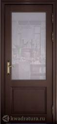 Межкомнатная дверь Персея ДО Дуб Шоколад