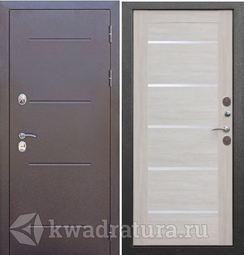 Входная дверь Феррони Изотерма Cеребро/Лиственница беж