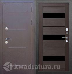 Входная дверь Феррони Изотерма серебро кипарис