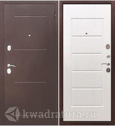 Входная дверь Феррони Гарда 7,5 Медный антик/Белый ясень