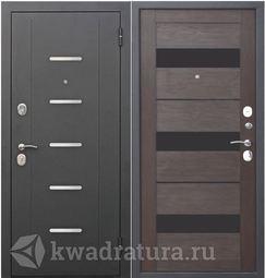 Входная дверь Феррони Гарда 7,5 Черный муар/ЦАРГА Темный кипарис