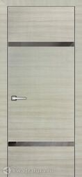 Межкомнатная дверь Geona Lavia 4 Дуб сильвер горизонт
