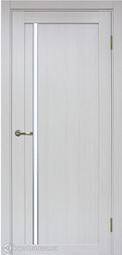 Межкомнатная дверь OPorte Турин 527АПС Молдинг SC Ясень серебристый  кромка алюминиевая