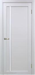 Межкомнатная дверь OPorte Турин 527АПС Молдинг SC Белый лед кромка алюминиевая