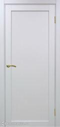 Межкомнатная дверь OPorte Турин 501.1 белый лед