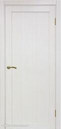 Межкомнатная дверь OPorte Турин 501.1 Ясень перламутр