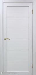 Межкомнатная дверь OPorte Турин 506 белый лед