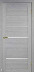 Межкомнатная дверь OPorte Турин 506 Дуб серый