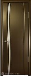 Межкомнатная дверь Океан Буревестник 1 СТ Белое Венге