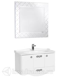 Комплект мебели для ванной Акватон Венеция 90 белый