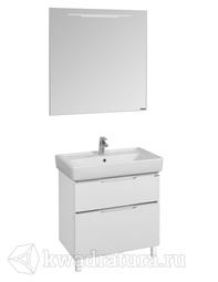 Комплект мебели для ванной Акватон Дакота 75 белый