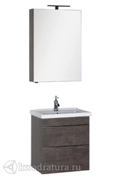 Комплект мебели для ванной Aquanet Эвора 60 дуб антик