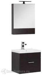 Комплект мебели для ванной Aquanet Нота 50 венге