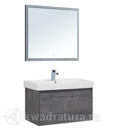 Комплект мебели для ванной Aquanet Nova Lite 90 дуб рошелье