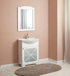 Комплект мебели для ванной Atoll Палермо 65 белый