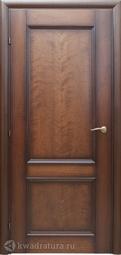 Межкомнатная дверь Краснодеревщик 3323 Кофе ДГ