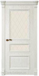 Межкомнатная дверь Магнолия3 ДО Дуб белый жемчуг