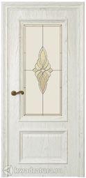 Межкомнатная дверь Магнолия 2 ДО Дуб Белый жемчуг