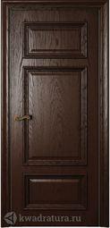 Межкомнатная дверь Магнолия 5 ГЛ Дуб бренди