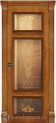 Межкомнатная дверь Магнолия 5 СТ Дуб Антико