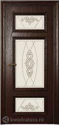 Межкомнатная дверь Магнолия 5 СТ Дуб бренди
