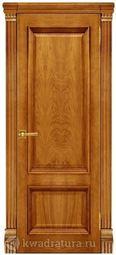 Межкомнатная дверь Магнолия 2 ГЛ Дуб Антико