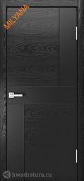 Межкомнатная дверь Мильяна ID-Z неро