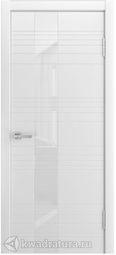 Межкомнатная дверь Мильяна ID-HL эмаль белая