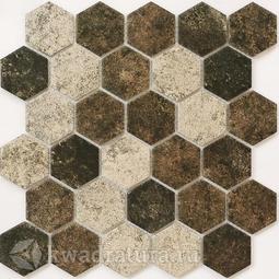 Мозаика керамическая Bonaparte Olmeto brown 28,2х27,1