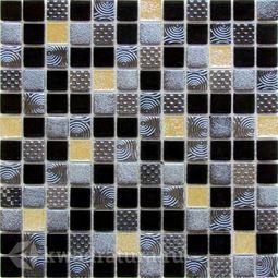 Мозаика стеклянная Bonaparte Domino 30х30