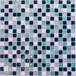 Мозаика стеклянная c камнем Bonaparte Olivia 30х30