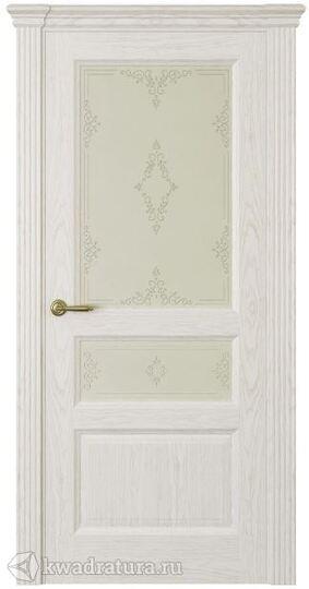 Межкомнатная дверь Океан  Марсель ДО ясень белый жемчуг