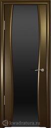 Межкомнатная дверь Океан Буревестник 2 СТ Тон венге