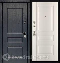 Дверь входная Профильдорс HD2 95U Сатинат Магнолия