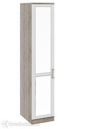 Шкаф Прованс для белья со стеклянной дверью L/R 580