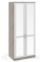 Шкаф Прованс для одежды с 2 стеклянными дверями 580
