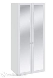 Шкаф Ривьера для одежды с зеркальными дверями