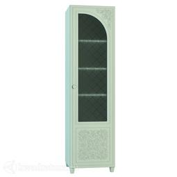 Шкаф со стеклом Соня-К  правый мята/салат