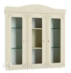 Шкаф-витрина Ассоль Plus Ваниль АС-29