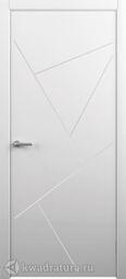 Межкомнатная дверь Albero Тау белая